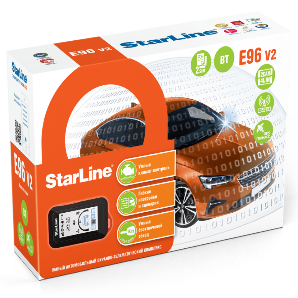 StarLine E96 v2 BT GSM-GPS